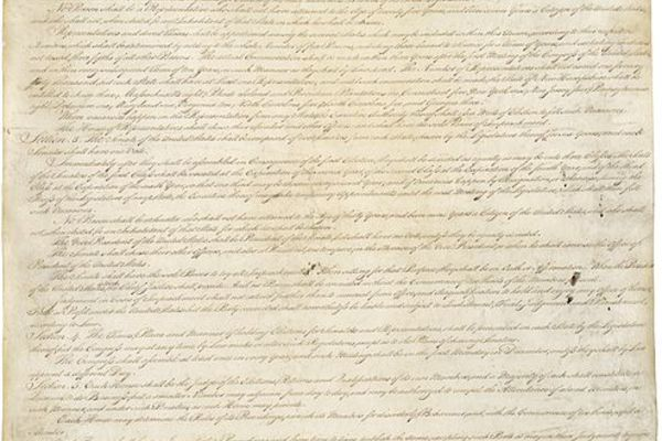 Image constitution of the united states