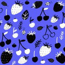 4 background fruit pattern