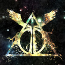 Iphone wallpaper harry potter and the deathly hallows symbol wallpaper